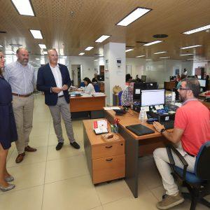 Diputación transfiere a los ayuntamientos más de 210 millones de euros a cuenta de la recaudación de los tributos municipales