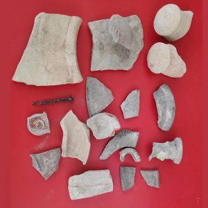 Tano Guzmán anuncia la idea municipal de que las piezas arqueológicas del Olivar inicien una colección museística