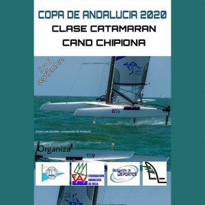 La regatas vuelven a Chipiona este fin de semana con la Copa Andalucía de Catamarán 2020