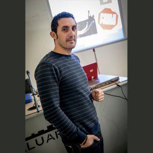 El guardia civil chipionero Jesús Rodríguez galardonado en los premios 20Blogs por su web 'seguridad vial en familia'
