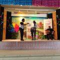 La edición de este año del Aula de Flamenco de la Diputación de Cádiz pasó ayer por el colegio Virgen de Regla de Chipiona