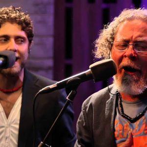 Diego Carrasco y Aurora Vargas, en «Lo Flamenco»