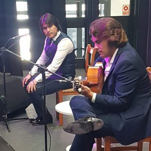 Emotivo reencuentro de Samuel Serrano con el público de Chipiona en la matinal de ayer domingo