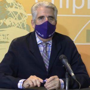 Luis Mario Aparcero: Vamos a poner a disposición las instalaciones y medios necesarios para que la vacunación sea lo más rápida posible