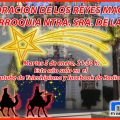 La Radiotelevisión municipal de Chipiona emitirá mañana en su canal de Youtube la Adoración de los Reyes Magos en la Parroquia