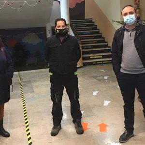 El pasado viernes se realizó la desinsectación y desratización de los centros educativos para la vuelta al cole en Chipiona tras la Navidad