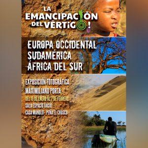 Casa Manolo-El Chusco acoge desde hoy la muestra fotográfica de Maximiliano Porta 'La emancipación del vértigo'