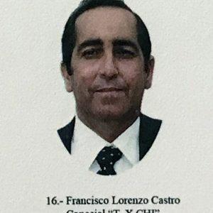 Fallece el exconcejal del Ayuntamiento de Chipiona Francisco Castro Lorenzo