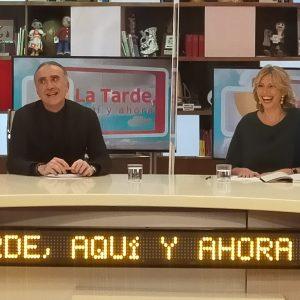 Marina Bernal pasó por el programa de Juan y Medio en Canal Sur TV para hablar de Soy Raphaelista