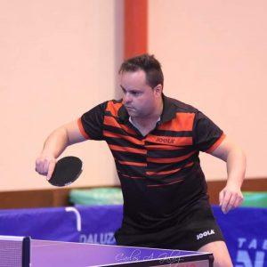 El gaditano Fran Grosso, Campeón de Andalucía Individual de Tenis de Mesa