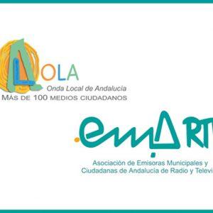 Radio Chipiona promociona el concurso para renovar la imagen corporativa EMA-RTV y Onda Local de Andalucía
