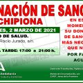 Llamamiento para una donación colectiva el martes 2 de marzo en Chipiona