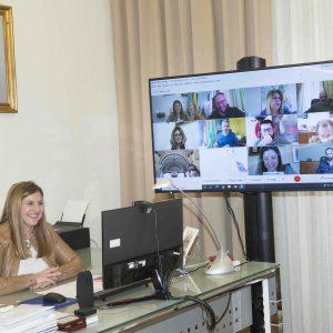 Irene García presenta a los Ayuntamientos de la Bahía de Cádiz, Jerez y Costa Noroeste las inversiones frente al COVID de Diputación