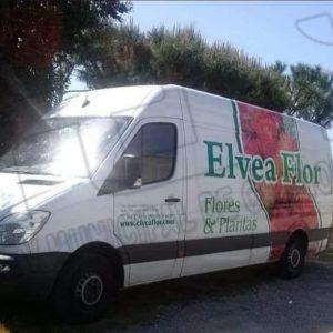 Encontrada en Sevilla una de las tres furgonetas robadas esta madrugada a la empresa local Elvea Flor
