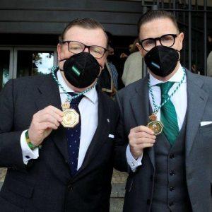 Los Morancos Medallas de Andalucía arropados por toda su familia