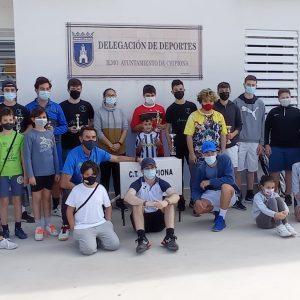 32 tenistas participaron la pasada semana en el torneo de Tenis Cadete y Junior Marzo 2021