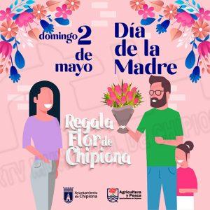 Laura Román anima a regalar flores de Chipiona en el Día de la Madre