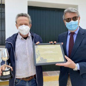 El mosto artesanal de Juan Antonio Cordero Moyano (Viña EL Redondón) y La Caridad, ganadores del Concurso de Mostos del Marco de Jerez