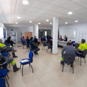 María Naval informa sobre la actuación municipal en materia de prevención de riesgos laborales