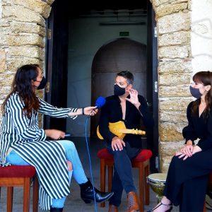 El Castillo acoge la grabación del videoclip sobre una cantiga de Alfonso X El Sabio y su paso por Chipiona