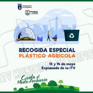 El jueves y el viernes de esta semana tendrá lugar en Chipiona una recogida especial de plásticos agrícolas