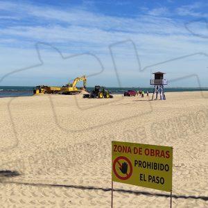 El alcalde de Chipiona agradece a la Demarcación de Costas la actuación de adecuación y mejora en la Playa Cruz del Mar