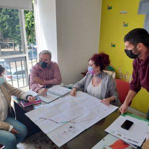 IU promueve alternativas para el arreglo urgente del camino de La Reyerta y llama a la Junta a desbloquear de una vez el tema