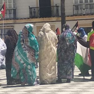 Marcha por la Libertad del Pueblo Saharaui.  Etapa 7. Lebrija- Las Cabezas de San Juan- Los Palacios  25 de Mayo