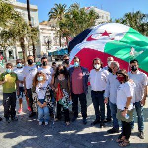 """IU respalda la Marcha Saharaui que ha partido hoy desde Cádiz y reivindica al Gobierno español que salde la deuda con el """"pueblo hermano"""""""