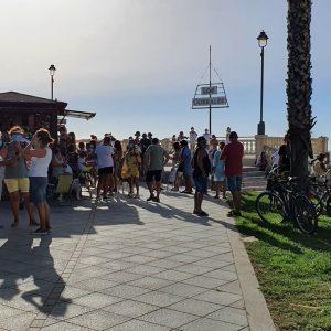 Anulado por la justicia el proceso de concesión municipal de un quiosco de golosinas y helados en el paseo marítimo de Las Canteras en Chipiona