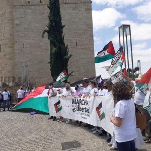 Marcha por la Libertad del Pueblo Saharaui.  Etapa 13.  La Carlota – Córdoba 1 de Junio