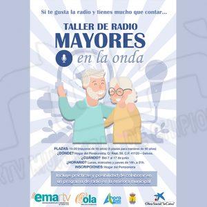 """Las emisoras municipales y la Fundación La Caixa inician el proyecto de formación en comunicación """"Mayores en la Onda"""""""