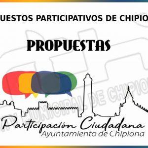 Últimos días para presentar propuestas a los Presupuestos Participativos de Chipiona 2021