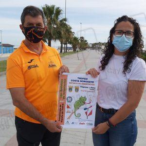 Laura Román: El campeonato andaluz de deporte de orientación será posible gracias a la cartografía facilitada por Santiago Santiago