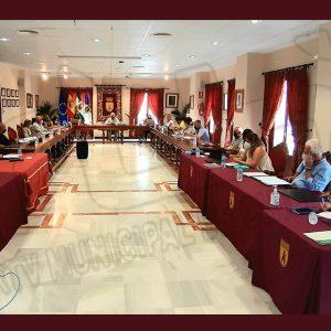La Corporación Chipionera aprueba nueve de los catorce puntos del orden del día del pleno del mes de junio de manera unánime