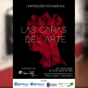 La sala del colectivo Espacio Vacío acoge la muestra fotográfica 'Las Caras del Arte' de Irene Vélez hasta el 12 de julio