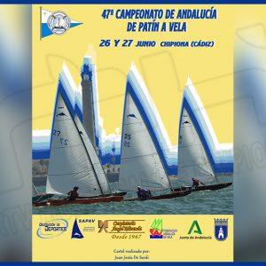 Cinco regatistas del CAND en el Campeonato de Andalucía de Patín a Vela que se disputa este fin de semana en Chipiona