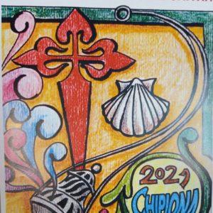 Los belenistas chipioneros ultiman detalles para la alfombra de sal que realizarán este sábado en un proyecto mundial por el Año Xacobeo