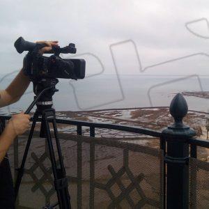 Las emisoras municipales de Andalucía graban un spot sobre Chipiona en un proyecto que visualiza destinos turísticos