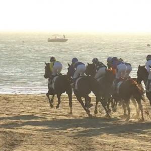 Canal Sur se vuelca también con el Segundo Ciclo de Carreras de Caballos de Sanlúcar