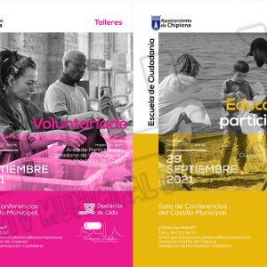 Isabel M.ª Fernández anuncia dos nuevos talleres de la Escuela de Ciudadanía de Diputación en Chipiona
