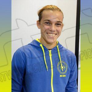 Miguel Ángel Chamorro consigue la medalla de plata en total olímpico en el Campeonato de Andalucía sub 17 de Halterofilia