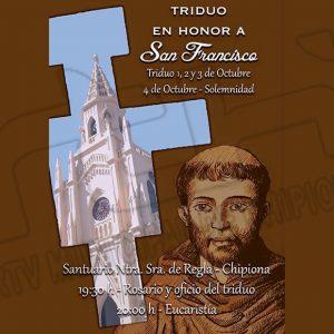 La Comunidad Franciscana celebra hoy la fiesta en honor de San Francisco de Asís