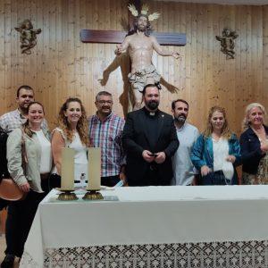 El sacerdote chipionero Antonio Pablo Jiménez Gil toma posesión como párroco de la iglesia de San José en Barbate