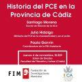 La provincia celebra el Centenario del PCE