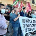 """IU se une a la protesta sindical y exige a las administraciones """"más inspecciones a las empresas para evitar nuevas muertes en el tajo"""""""